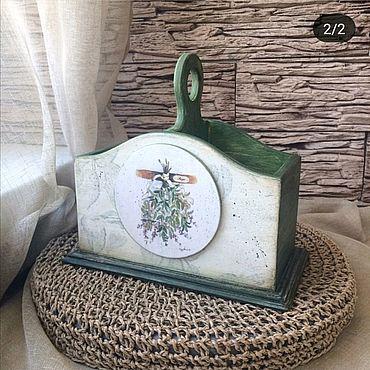 Для дома и интерьера ручной работы. Ярмарка Мастеров - ручная работа Бутылочница Прованские травы. Handmade.