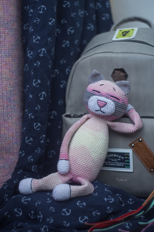 Аминеко Полуторный (японский кот), Мягкие игрушки, Москва,  Фото №1
