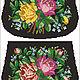 Схема для вышивания чешским бисером сумочки `Розы`