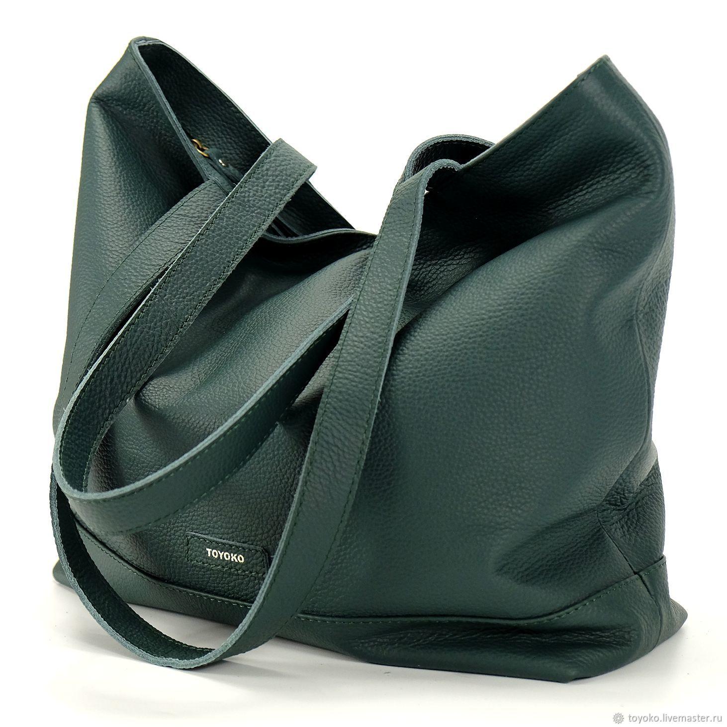 'Shopka' bag genuine leather, Classic Bag, Moscow,  Фото №1