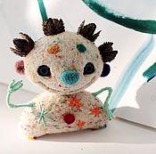 """Куклы и игрушки ручной работы. Ярмарка Мастеров - ручная работа войлочная игрушка """"Клоун Зузу"""". Handmade."""