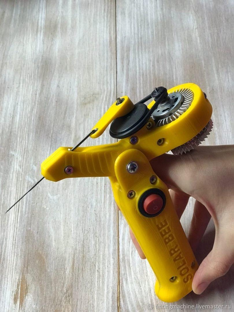 Promotion-10%! 1 needle, speed and tilt adjustable, Felting tools, Krasnodar,  Фото №1