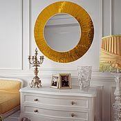 Для дома и интерьера handmade. Livemaster - original item Mirror - sun in a mosaic frame. Handmade.