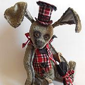 Stuffed Toys handmade. Livemaster - original item Plush rabbit. Handmade.