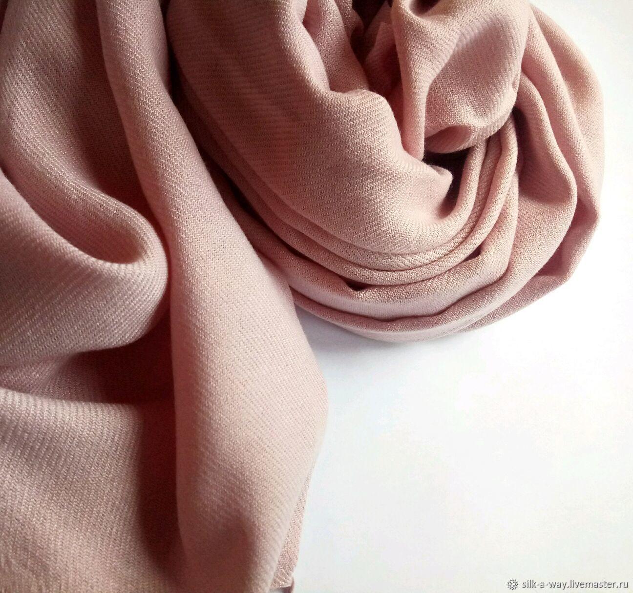 Розовый нюдовый палантин, Палантины, Москва,  Фото №1