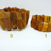 Украшения handmade. Livemaster - original item Bracelets natural amber