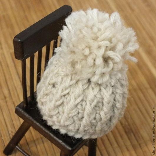 Вязание ручной работы. Ярмарка Мастеров - ручная работа. Купить Вяжем сами шапочку для куклы (игрушки). Мастер класс PDF (20 фото). Handmade.
