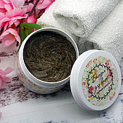 Косметика ручной работы handmade. Livemaster - original item Balm for hair for hair and scalp Cleansing. Handmade.