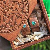 handmade. Livemaster - original item Copy of Copy of Copy of Wooden rings (paduk,garnet ). Handmade.