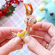 Куклы и игрушки handmade. Livemaster - original item Micro alpaca de punto. Handmade.