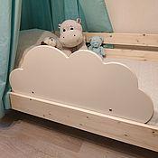 """Кровати ручной работы. Ярмарка Мастеров - ручная работа Бортик  на кровать """"Облачко"""" 80х35 см. Handmade."""
