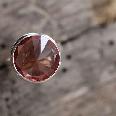 Украшения ручной работы. Ярмарка Мастеров - ручная работа 19 александрит искусственный Кольцо серебряное. Handmade.