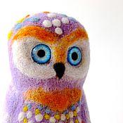 Stuffed Toys handmade. Livemaster - original item Owl Josephine. Handmade.