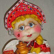 Куклы и игрушки ручной работы. Ярмарка Мастеров - ручная работа Матрёшка текстильная. Handmade.