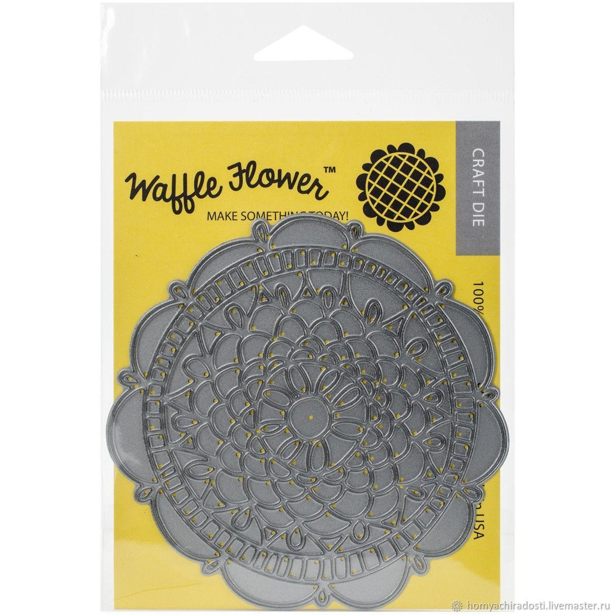 В наличии! Нож для вырубки Doily Circle die от Waffle Flower Crafts, Инструменты для скрапбукинга, Пушкин,  Фото №1