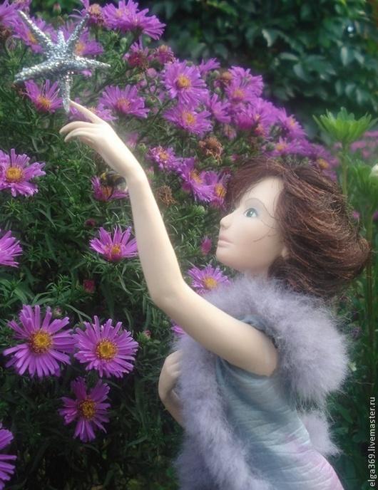 Коллекционные куклы ручной работы. Ярмарка Мастеров - ручная работа. Купить Между сном и явью: дотянуться до звезды.... Handmade.