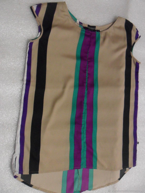 Vintage blouse,100% silk,vintage India, Vintage clothing, Novorossiysk,  Фото №1