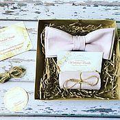 Свадебный салон handmade. Livemaster - original item Mariposa-la corbata y el pañuelo-pach