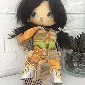 Текстильная нас кукла