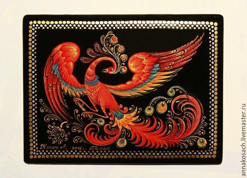 170ab2649e18 Купить Лаковая шкатулка с авторской росписью · Сувениры ручной работы.  Лаковая шкатулка с авторской росписью