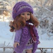 Куклы и игрушки handmade. Livemaster - original item Dress, hat, vest, scarf and stockings for Paola Reina.. Handmade.