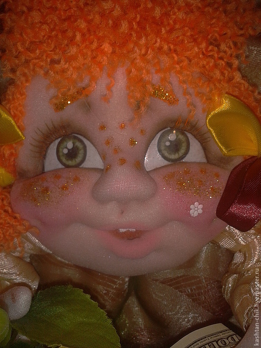 """Статуэтки ручной работы. Ярмарка Мастеров - ручная работа. Купить Кукла - попик  """"На удачу"""". Мои голопопики.. Handmade. Кукла"""