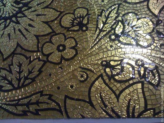 Репродукции ручной работы. Ярмарка Мастеров - ручная работа. Купить Мозаичное художественное панно. Handmade. Мозаика из стекла, стеклянная мозаика