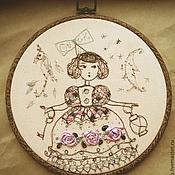 """Картины и панно ручной работы. Ярмарка Мастеров - ручная работа Панно """"Коллекция кукол"""". Handmade."""