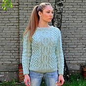 """Одежда ручной работы. Ярмарка Мастеров - ручная работа свитер """"Киви"""". Handmade."""