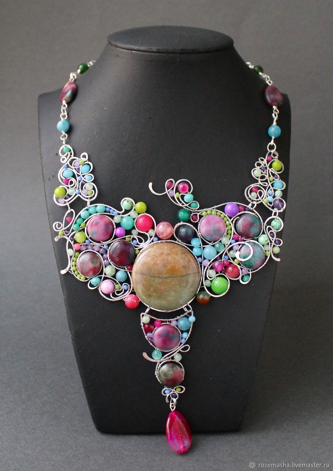 Necklace 'Apples and Berries' (option), Necklace, St. Petersburg,  Фото №1