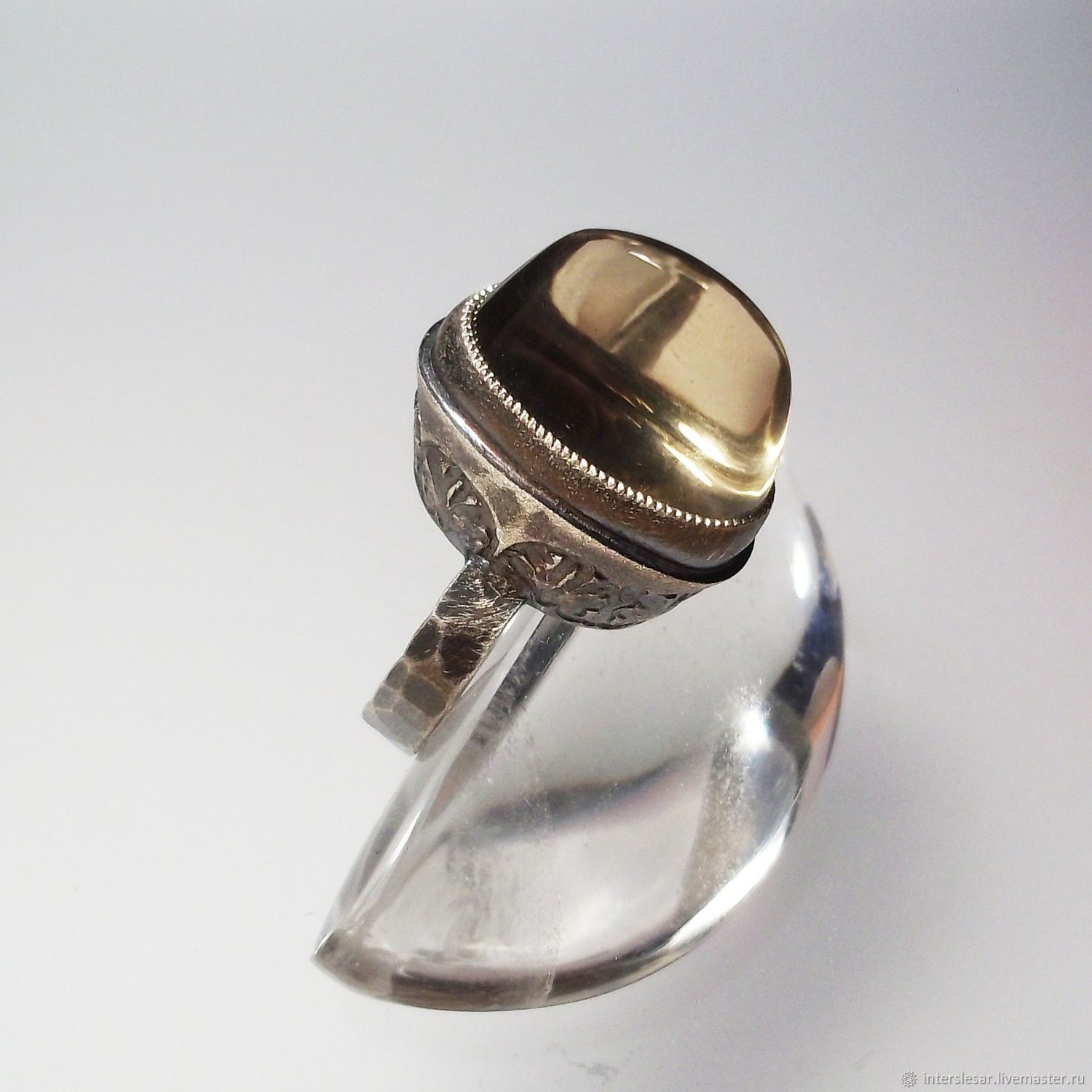 Ring: The Topaz ring 'Egypt', Rings, Moscow,  Фото №1