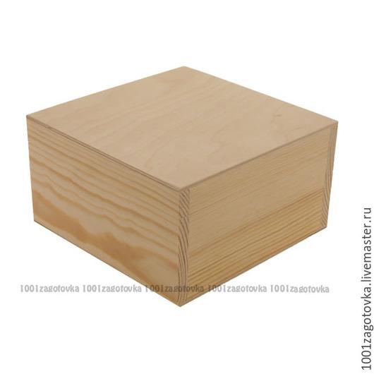 Декупаж и роспись ручной работы. Ярмарка Мастеров - ручная работа. Купить 702-4 Заготовка деревянной коробки с ложементом. Handmade.