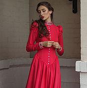 Одежда handmade. Livemaster - original item Floor-length dress