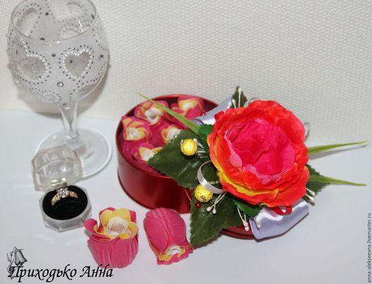 Подарочные наборы ручной работы. Ярмарка Мастеров - ручная работа. Купить Мыльные розы в подарочной коробке. Handmade. Комбинированный, подарок