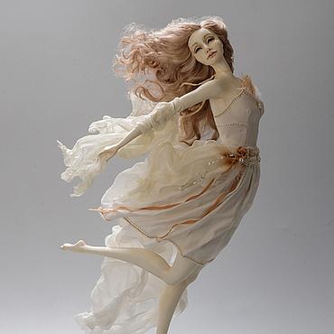 Куклы и игрушки ручной работы. Ярмарка Мастеров - ручная работа Танцующие с ветром. Бриз. Handmade.