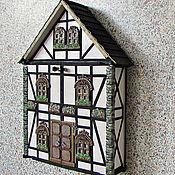 Для дома и интерьера handmade. Livemaster - original item Housekeeper Alpine house locker. The housekeeper is a wall handmade.. Handmade.