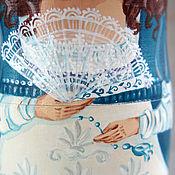 Русский стиль handmade. Livemaster - original item matryoshka Russian ladies. Handmade.