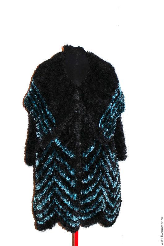 """Верхняя одежда ручной работы. Ярмарка Мастеров - ручная работа. Купить Пальто ручной вязки  """"Бохо"""". Handmade. Комбинированный"""