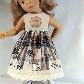 Одежда для кукол ручной работы. Ярмарка Мастеров - ручная работа Платье для кукол Паола Рейна, Минуш.. Handmade.