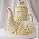 """Чайники, кофейники ручной работы. Ярмарка Мастеров - ручная работа. Купить Чайник """"Чаепитие в стиле бохо"""". Handmade. Керамика, чай"""