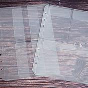handmade. Livemaster - original item Folder-pocket for a Filofax A5 notebook. Handmade.
