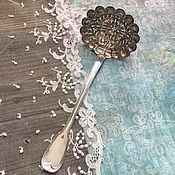 Винтаж handmade. Livemaster - original item Antique silver powder spoon. Handmade.