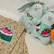 Куклы и игрушки ручной работы. Ярмарка Мастеров - ручная работа Зайчики-неразлучники. Handmade.
