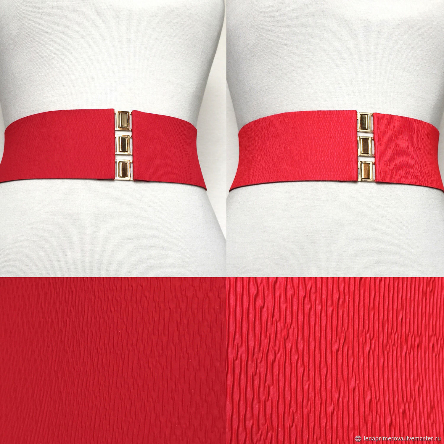 Elastic belts Red Medium and Light, different price for different height, Belt, Moscow,  Фото №1