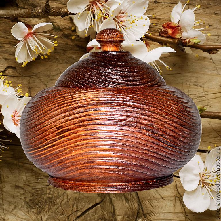 a jug with a textured lid and a pine barrel k25, Jars, Novokuznetsk,  Фото №1