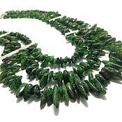 Necklace handmade. Livemaster - original item Necklace diopside
