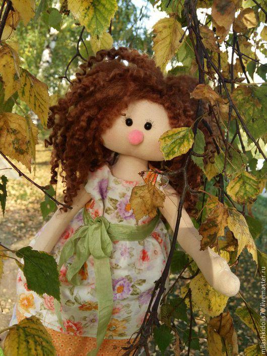 Коллекционные куклы ручной работы. Ярмарка Мастеров - ручная работа. Купить Куколка. Handmade. Комбинированный, подарок на день рождения, кожа