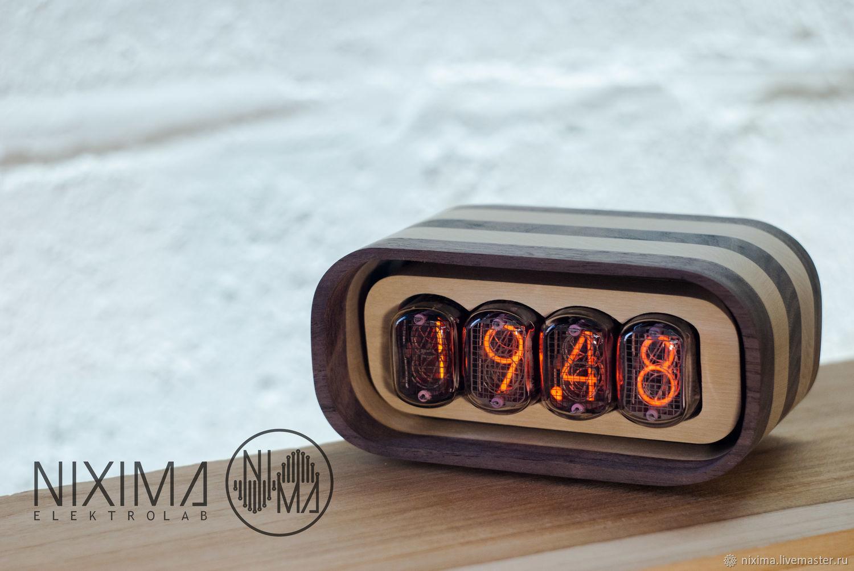 Часы на газоразрядных индикаторах ИН 12Б, Часы классические, Ростов-на-Дону,  Фото №1