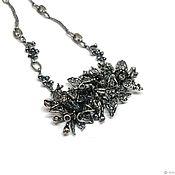 Украшения handmade. Livemaster - original item Petal Necklace.The author`s work with the fittings annabronze, silver. Handmade.
