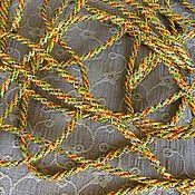 """Материалы для творчества ручной работы. Ярмарка Мастеров - ручная работа шнур"""" золото"""" 3 мм. Handmade."""